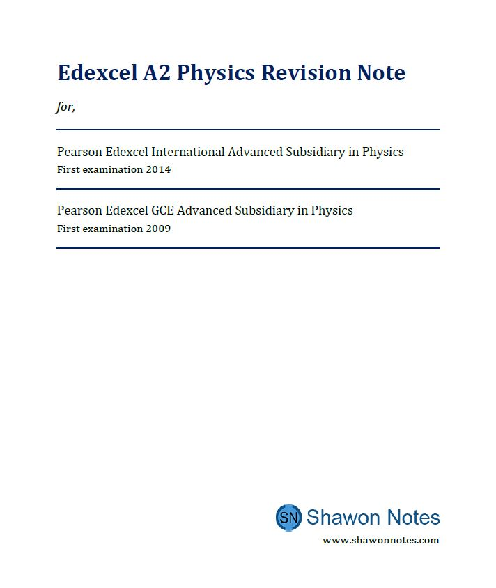 A2 Physics cover